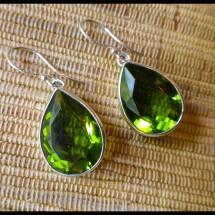 Peridot earrings  $64